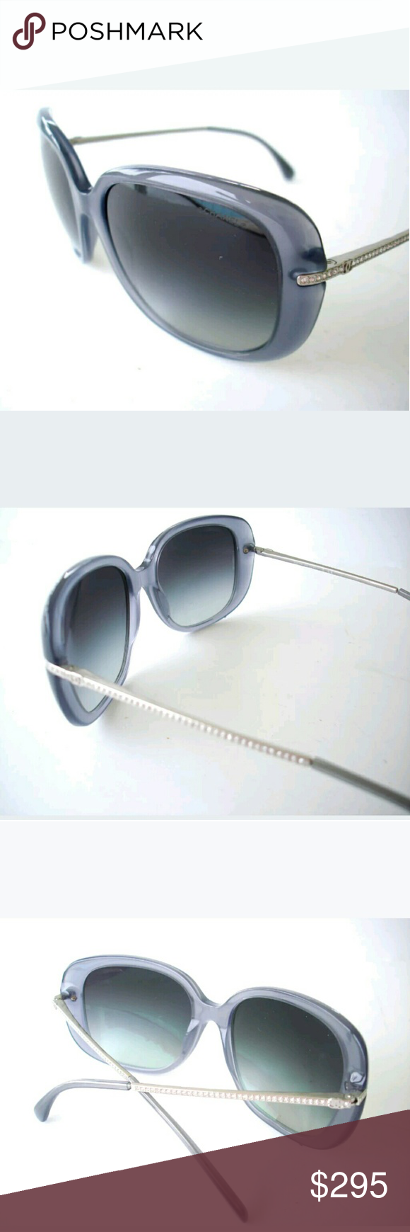 Chanel Sunglasses | Greyish blue, Chanel sunglasses and Conditioning