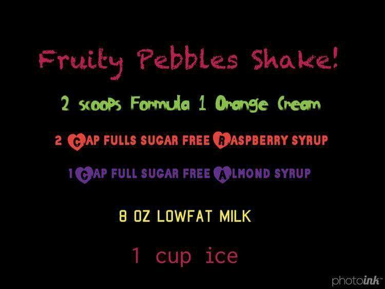 Fruity Pebbles Shake Herbalife Shake Recipes Herbalife Shake Herbalife Nutrition Club