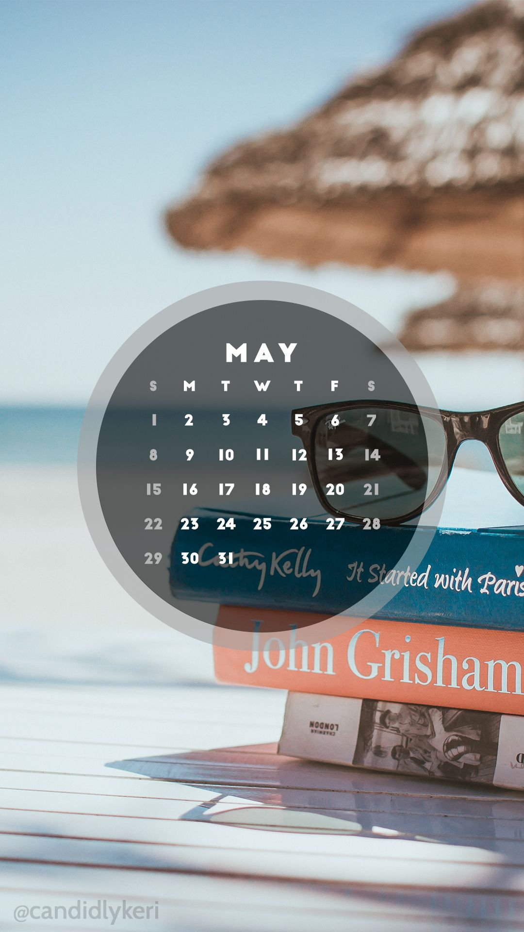 Wallpaper download blog - Summer Sunglasses Book Beach May 2016 Calendar Wallpaper Free Download For Iphone Android Or Desktop Background