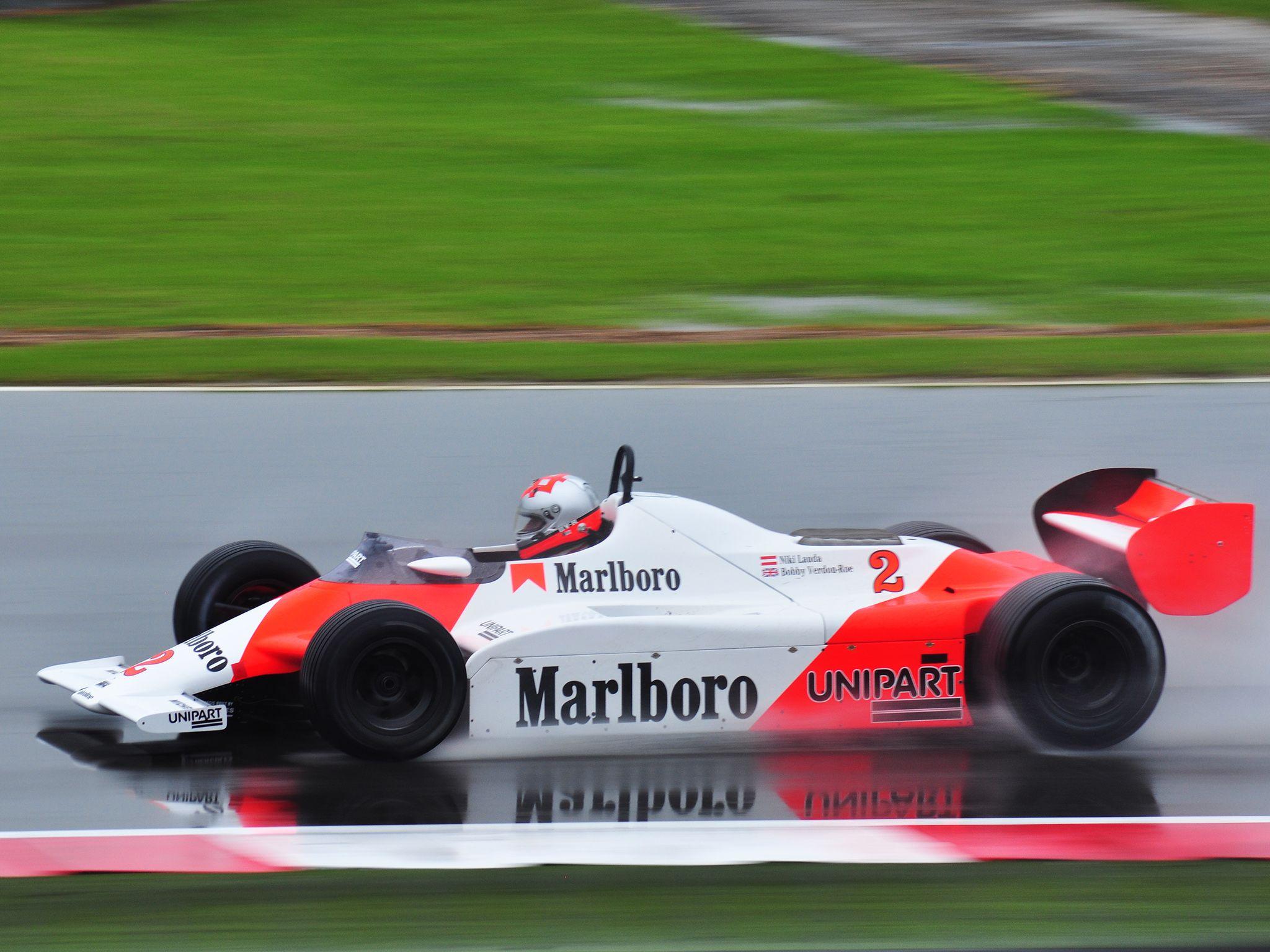 1984 McLaren Formula One Race Racing G