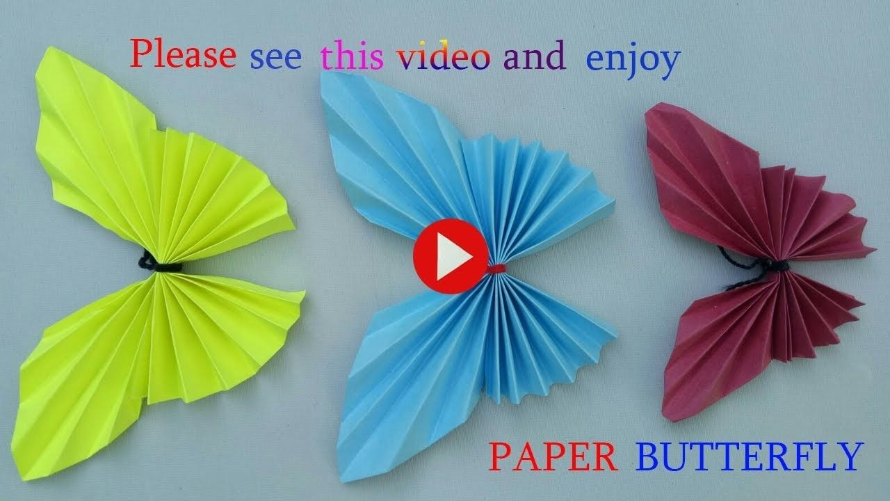 How to make butterfly using chart paperke some wonderful also rh pinterest