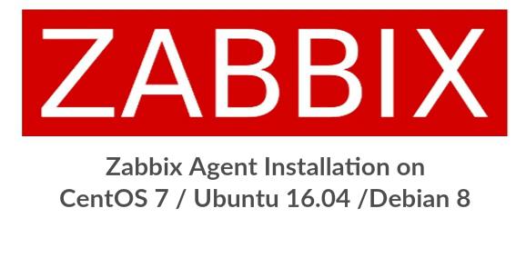 install zabbix agent debian