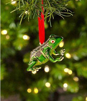 "Dillard´s Trimmings Cloisonne 2.5"" Frog Ornament | Dillard's Mobile"