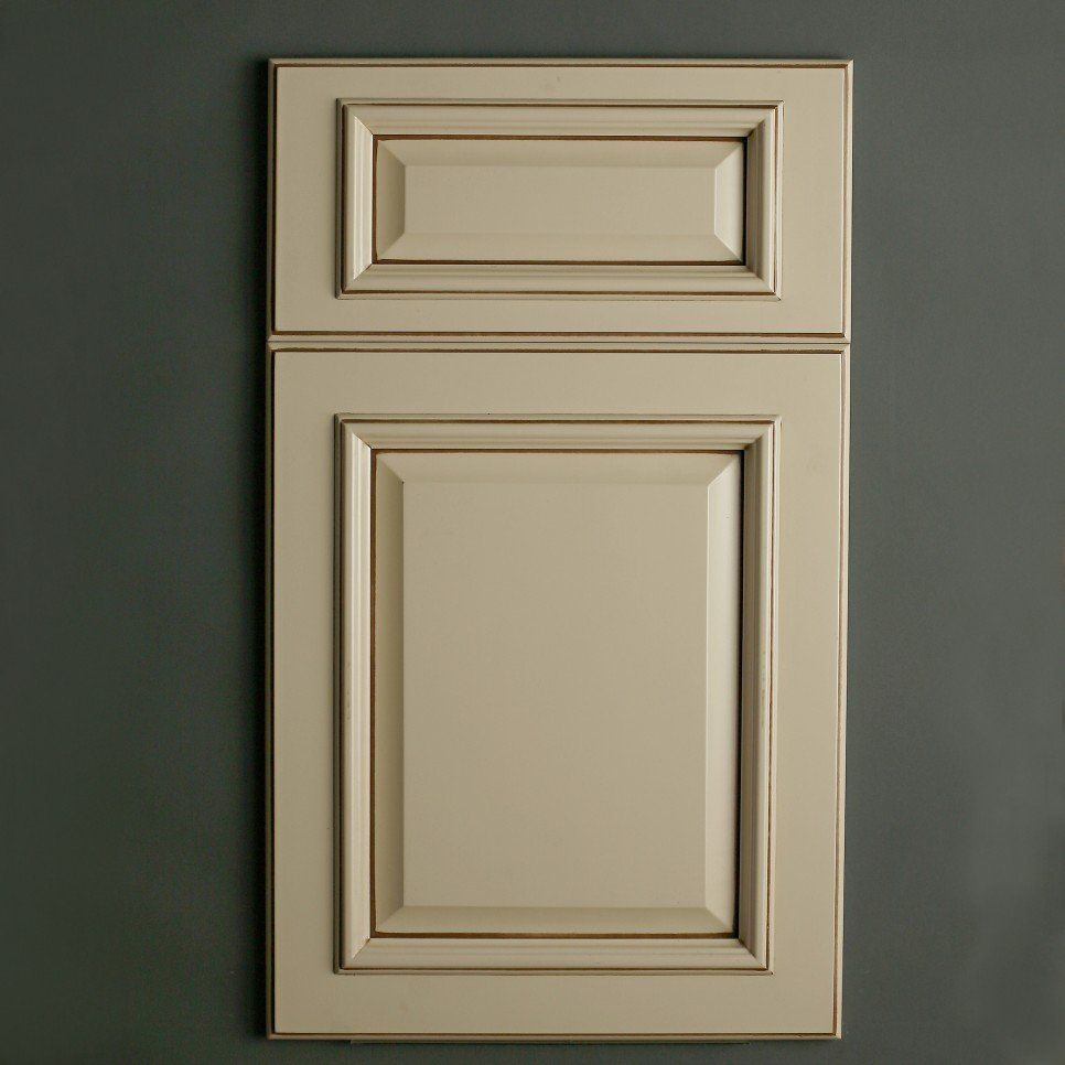 Furniture cream color painting oak kitchen cabinets door and drawer