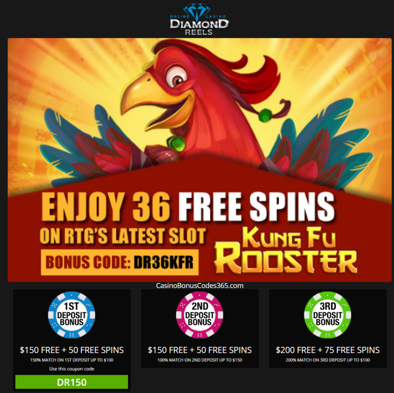 Diamond Reels Casino 36 No Deposit Free Spins And 500 Welcome Bonus Casino Casino Bonus Bonus