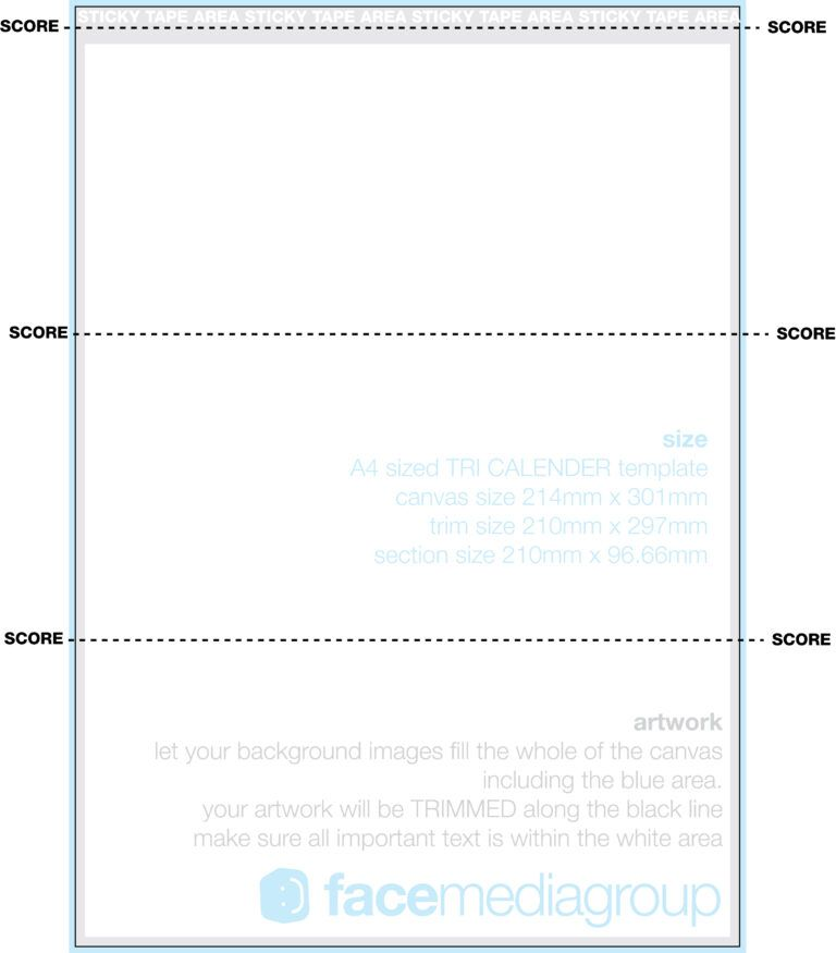 A4 Tri Fold Desk Calendar Template Photo Page Pertaining To Tri Fold Tent Card Template