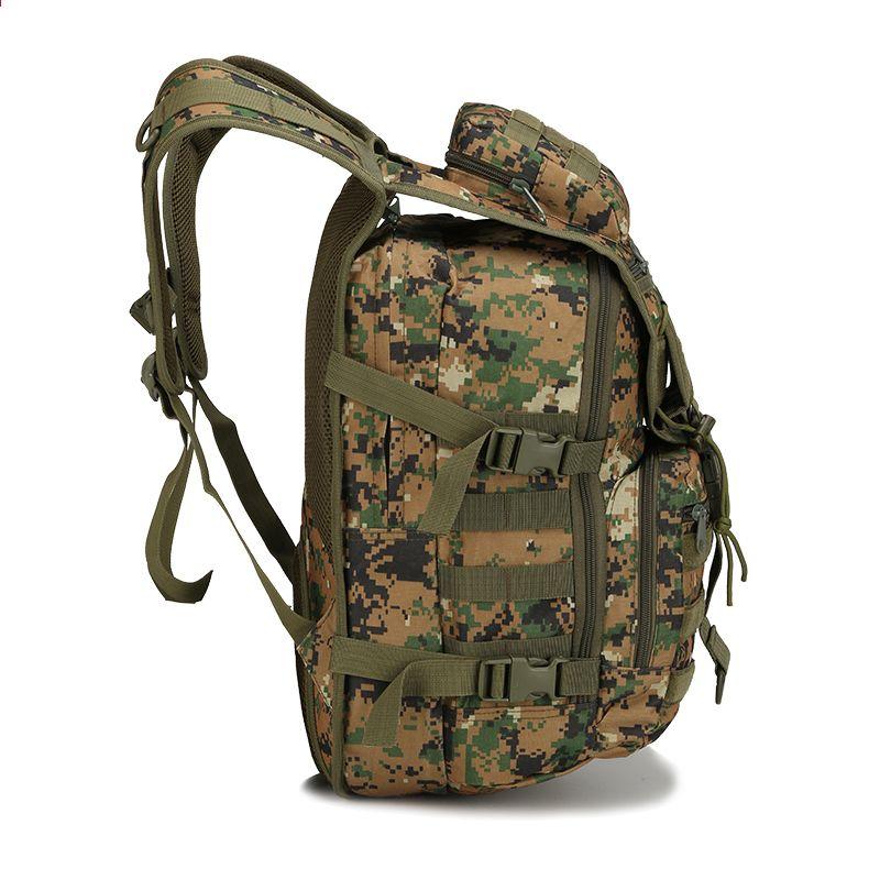 40L Män Kvinnor Militär Armé Utomhus Taktisk Ryggsäck Trekking Sport Resor  Ryggsäckar Camping Vandring Camouflage Väska 39e409e53d154