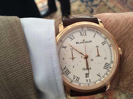 Blancpain Chronographe Pulsometre Watch