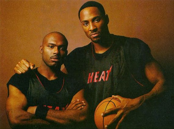 the best attitude 60fc2 3e0fd Tim Hardaway & Alonzo Mourning | Sports Legends | Miami heat ...