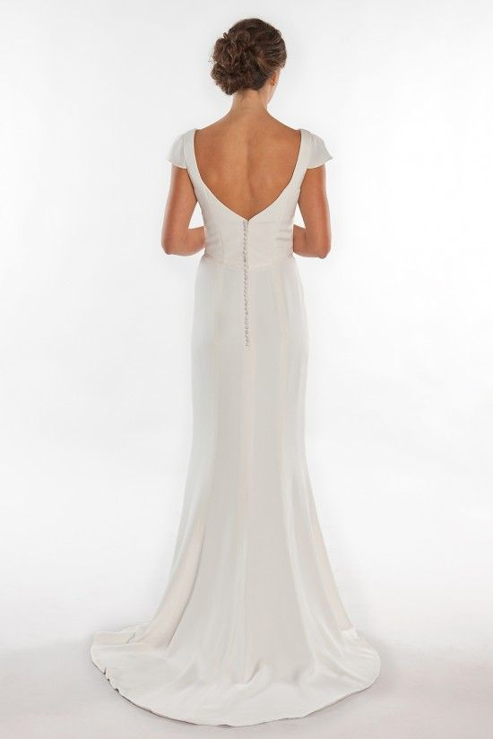 Charlotte wedding dress by Trish Lee San Francisco - handcrafted of ...