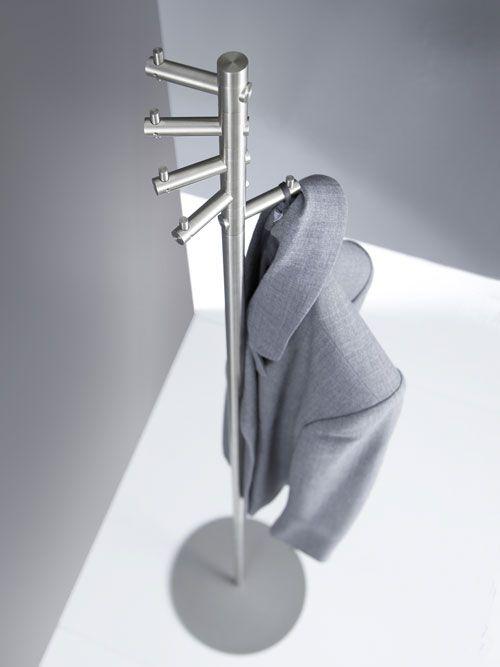 Kleiderständer Edelstahl Design garderobenständer edelstahl design t 1 coat rack stand