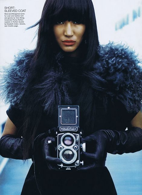 Girl with Camera | Fashion | Photographer Norman Jean Roy