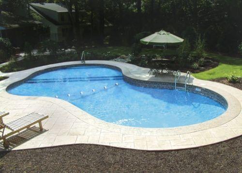 Nice Pool Shape Pool Spa Oh Yes In 2019 Pool Shapes