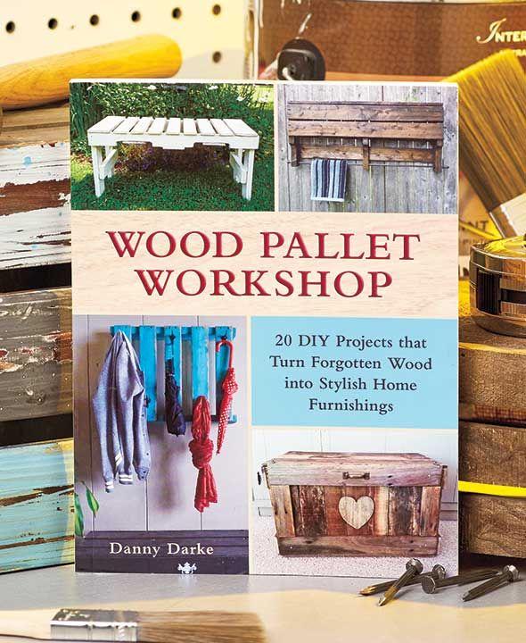 Wood Pallet Workshop Book | Wood pallets, Diy wood pallet ...