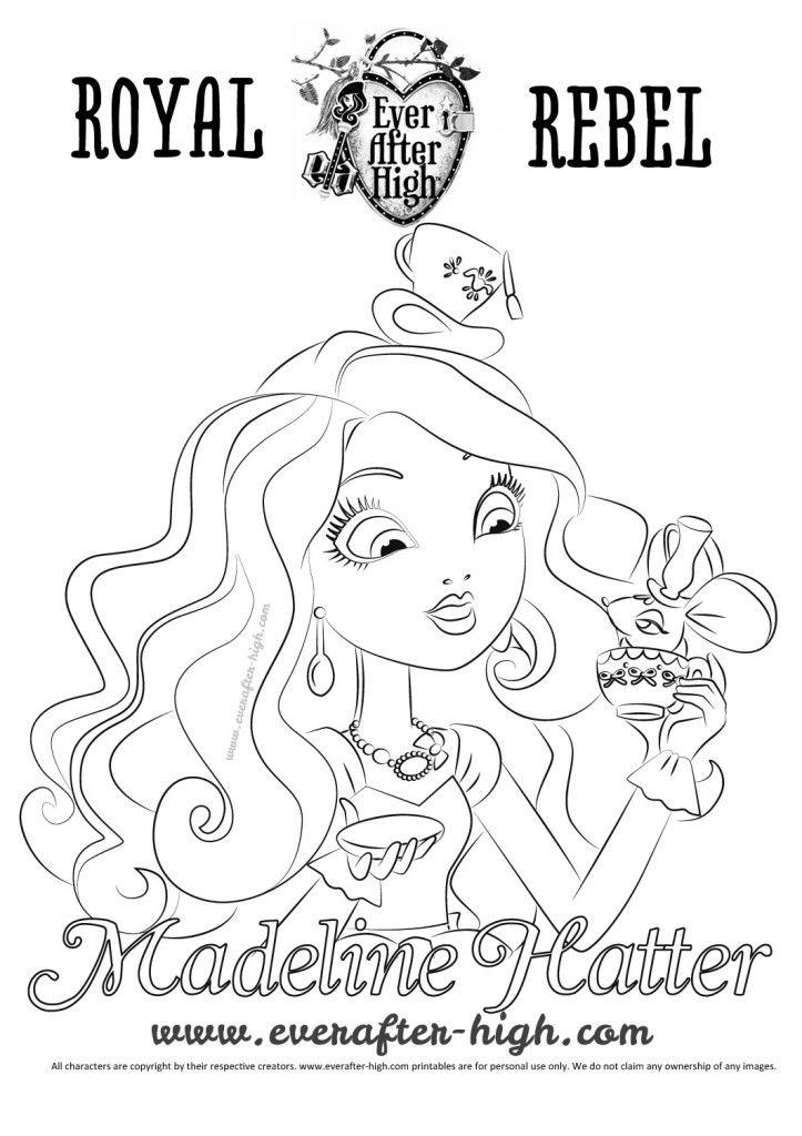 Madeline Hatter | Ever after high and monster high | Pinterest