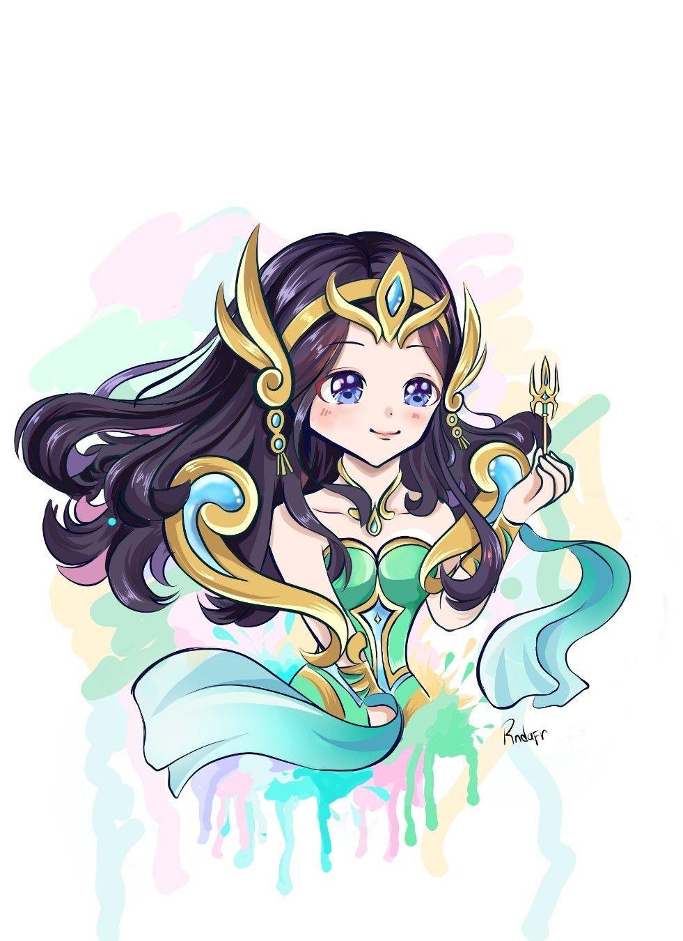 Fanart Kadita Mlbb Animasi Gambar Manga Desain Karakter Game