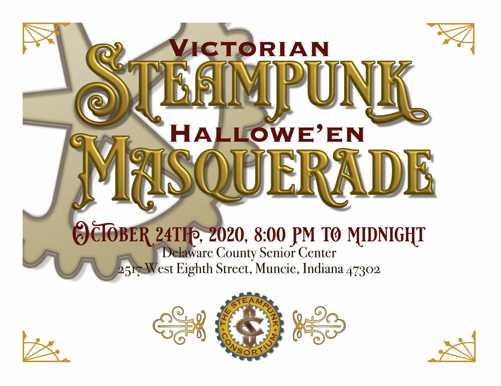 Halloween 2020 Muncie Indiana Masquerade 2020   We will be hosting a Masquerade in October 2020
