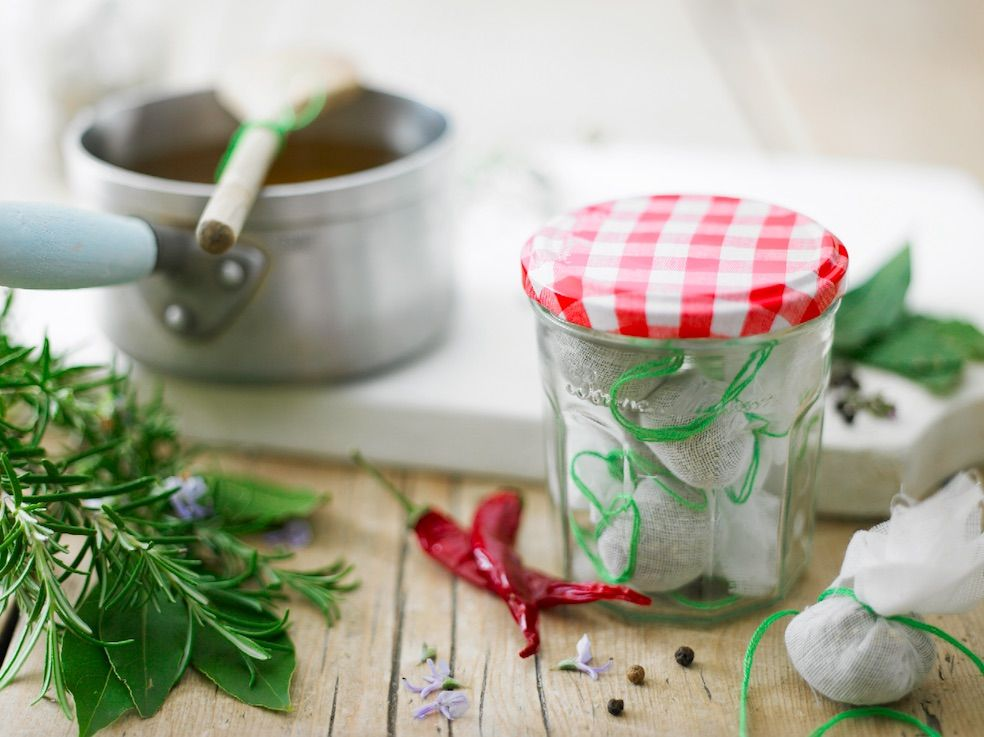 Le pot Bonne Maman® pour bouquet garni Conservez vos plantes ...
