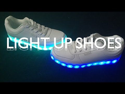 Attractive DIY Light Up Shoes   Make Thrift Buy #25   YouTube.... Because Dusce Wants Light  Up Shoes And I Donu0027t Like My Retail Options Lol Awesome Design