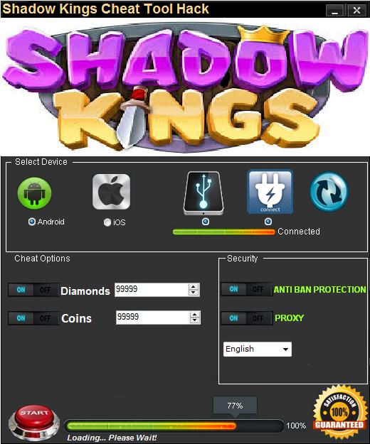 shadow kings hack no survey