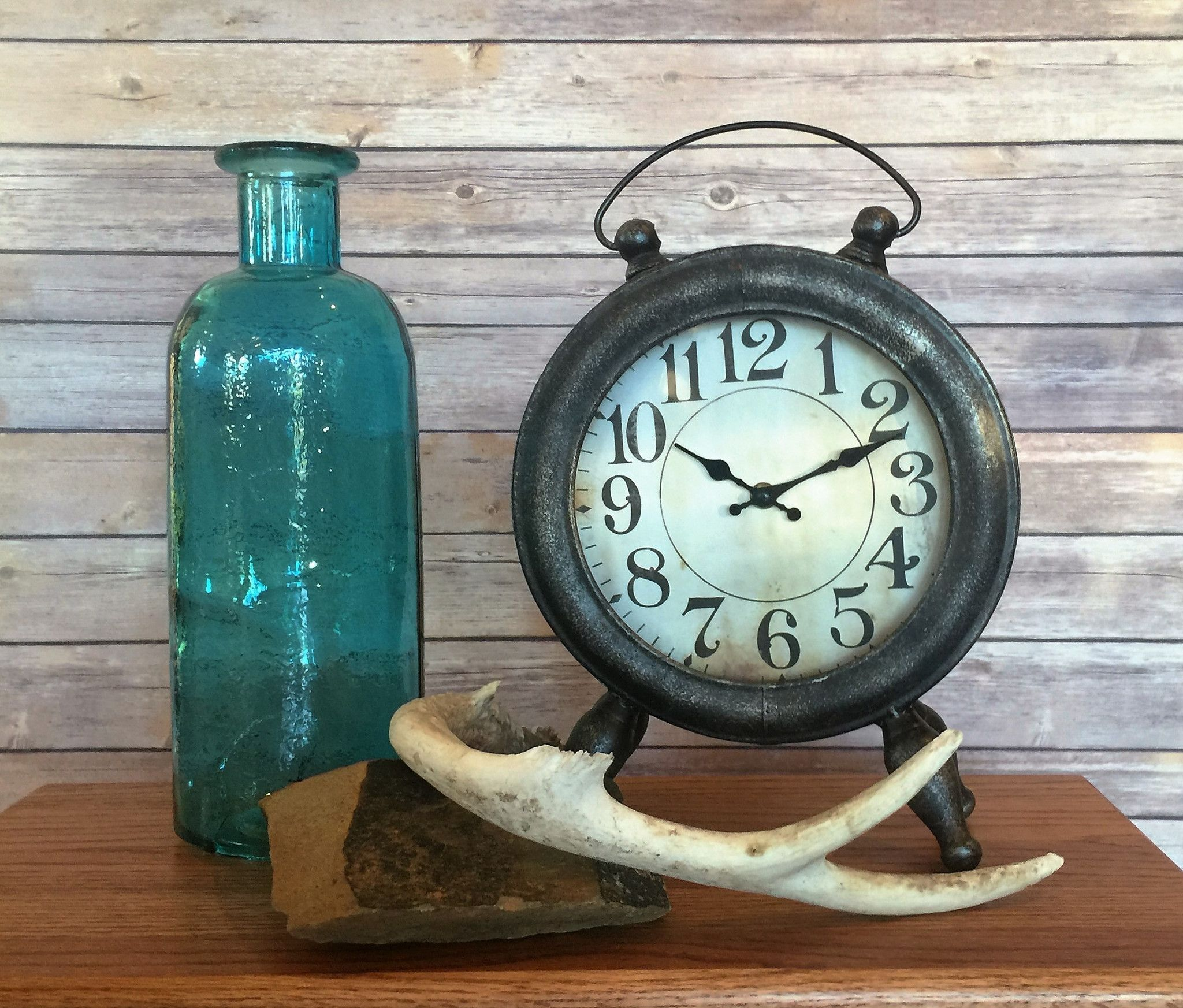 Wesson Metal Table Clock