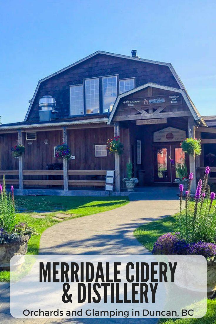 Merridale Cider and Distillery Canada travel, Canada