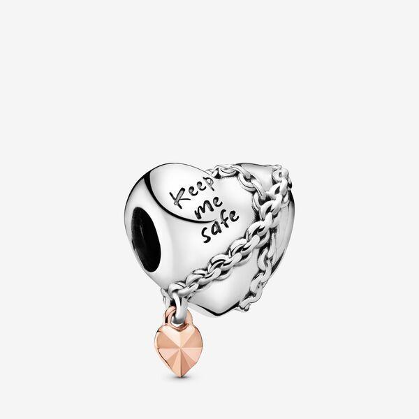 Chained Heart Charm Pandora Bracelet Charms Pandora Jewelry Pandora Charms