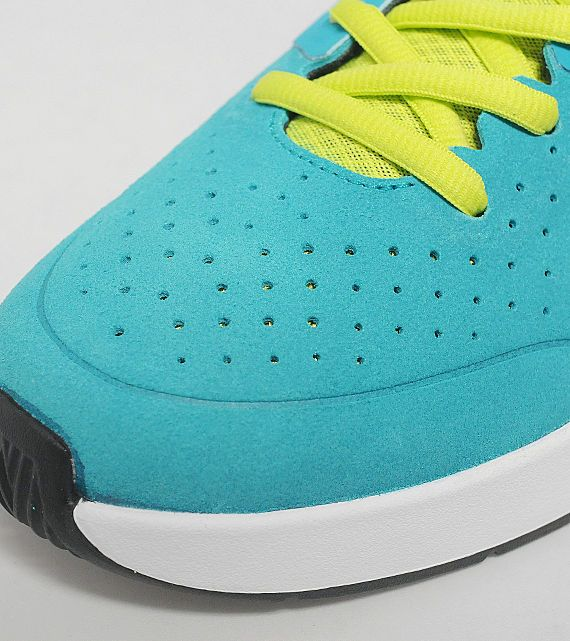 Nike SB Project BA - Tribe Green / White - Volt | KicksOnFire.com