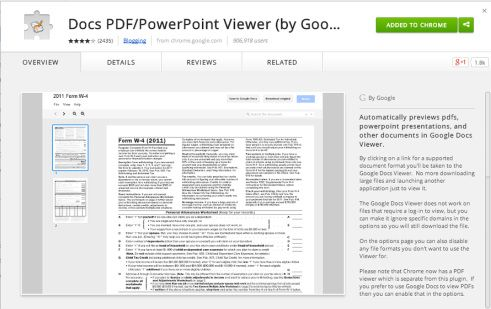 A Must Have Chrome Extension Docs PDF PowerPoint Viewer