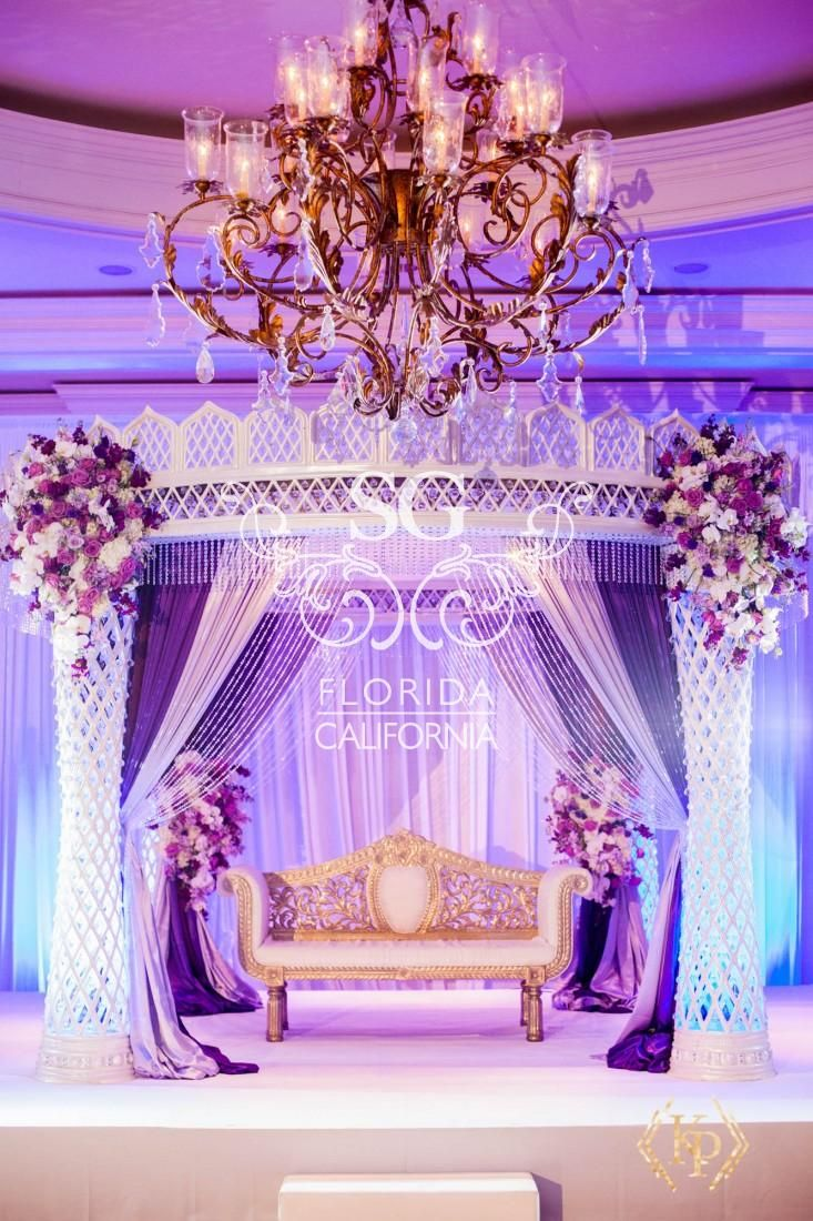 Suhaag Garden Weddings Florida Indian Wedding Decorator California