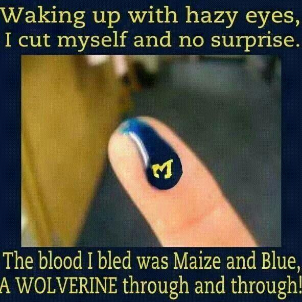 I bleed u-m baby