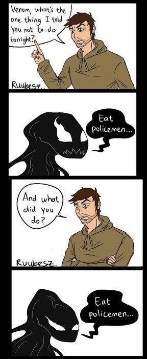 30 Fan Art Of Venom And Eddie Brock S Relationship Venom Comics