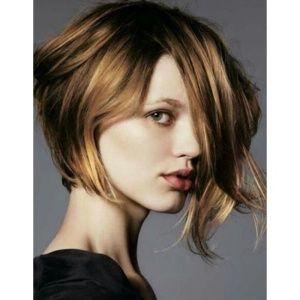 coiffure carre plongeant destructure en 2020 | Coupe de cheveux asymétrique, Coupe de cheveux et ...