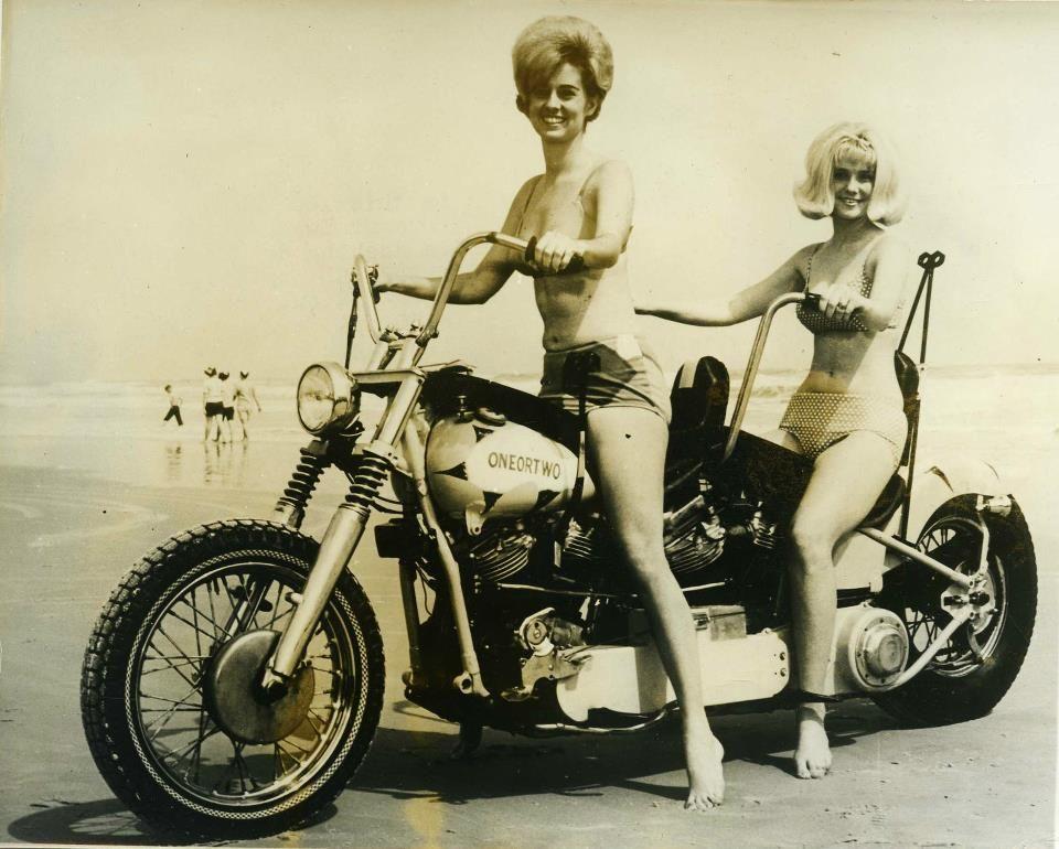 i guess daytona bike week hasn't changed much since the 60s
