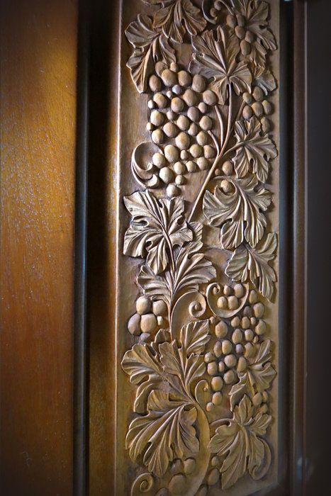 Wood carving plants buscar con google ss grape