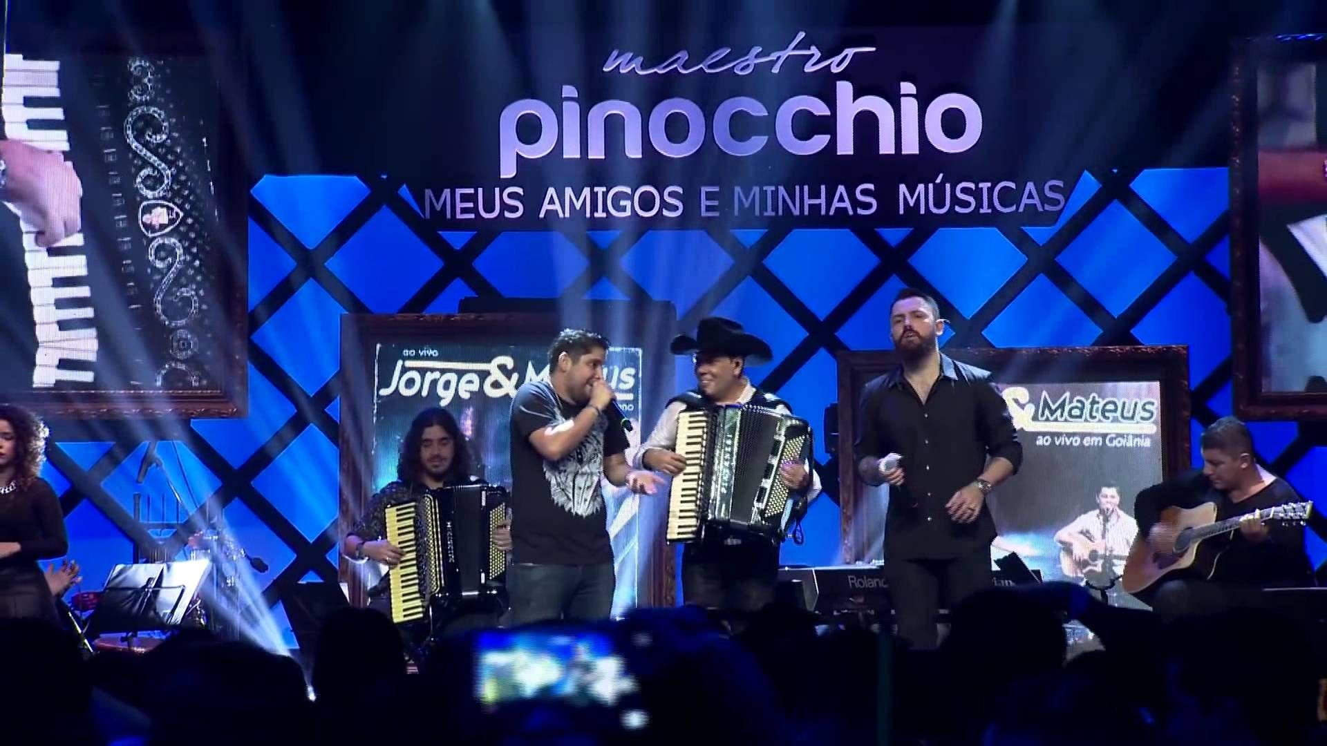 Jorge Mateus Pergunta Boba Part Maestro Pinocchio Video