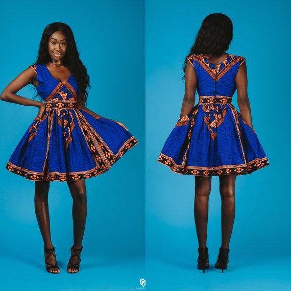 il ABBY vestito blu