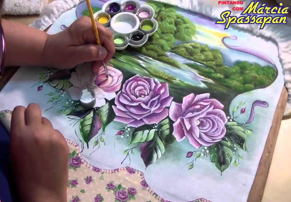 Escola de Pintura em Tecido Online Márcia Spassapan