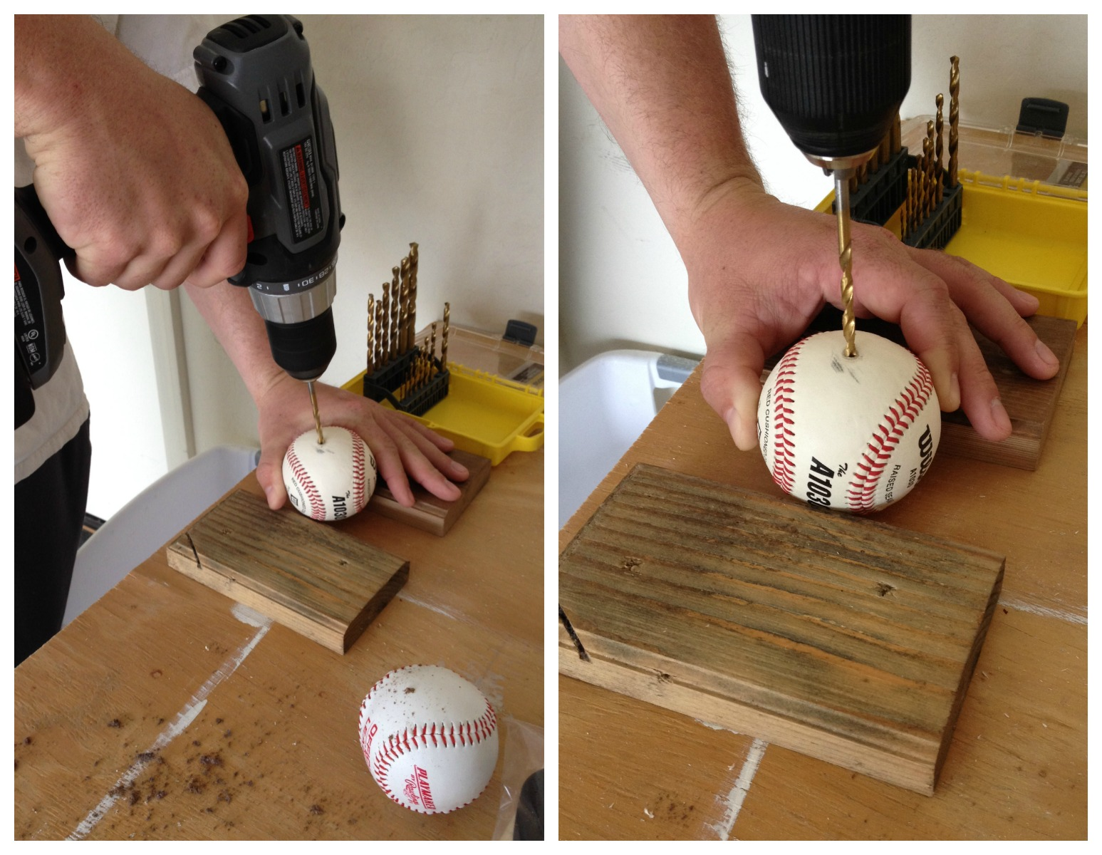 Baseball Crafts DIY Easy Decor ProjectsPopular With The Poplins