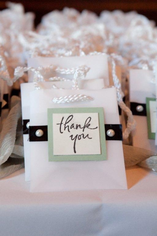 Thank You Ideas Personalized Thank You Gift Bags For Your Guests