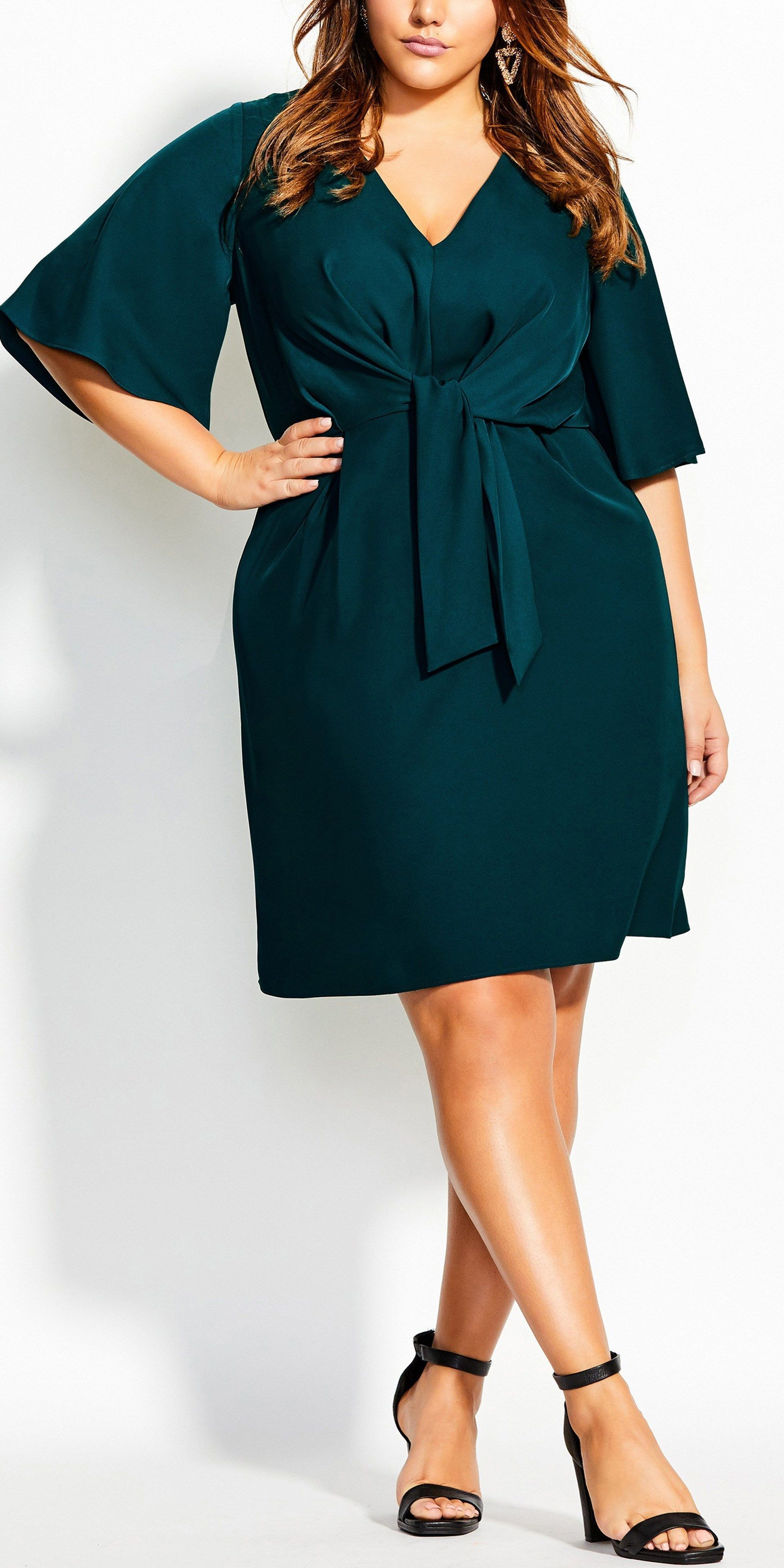 39 Plus Size Wedding Guest Dresses with Sleeves Alexa