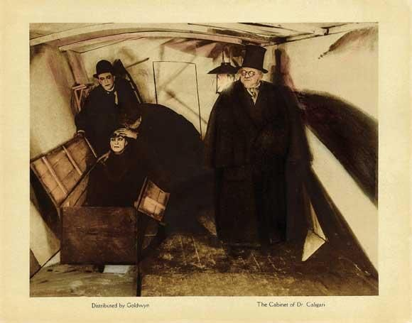 From The Cabinet of Dr. Caligari, dir. Robert Weine. #film #top25