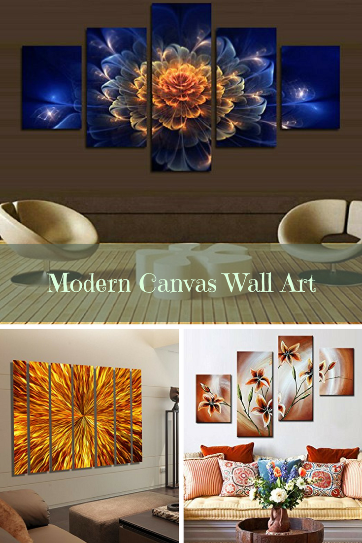 Modern wall art is bold, beautiful and timeless. In fact if you ...