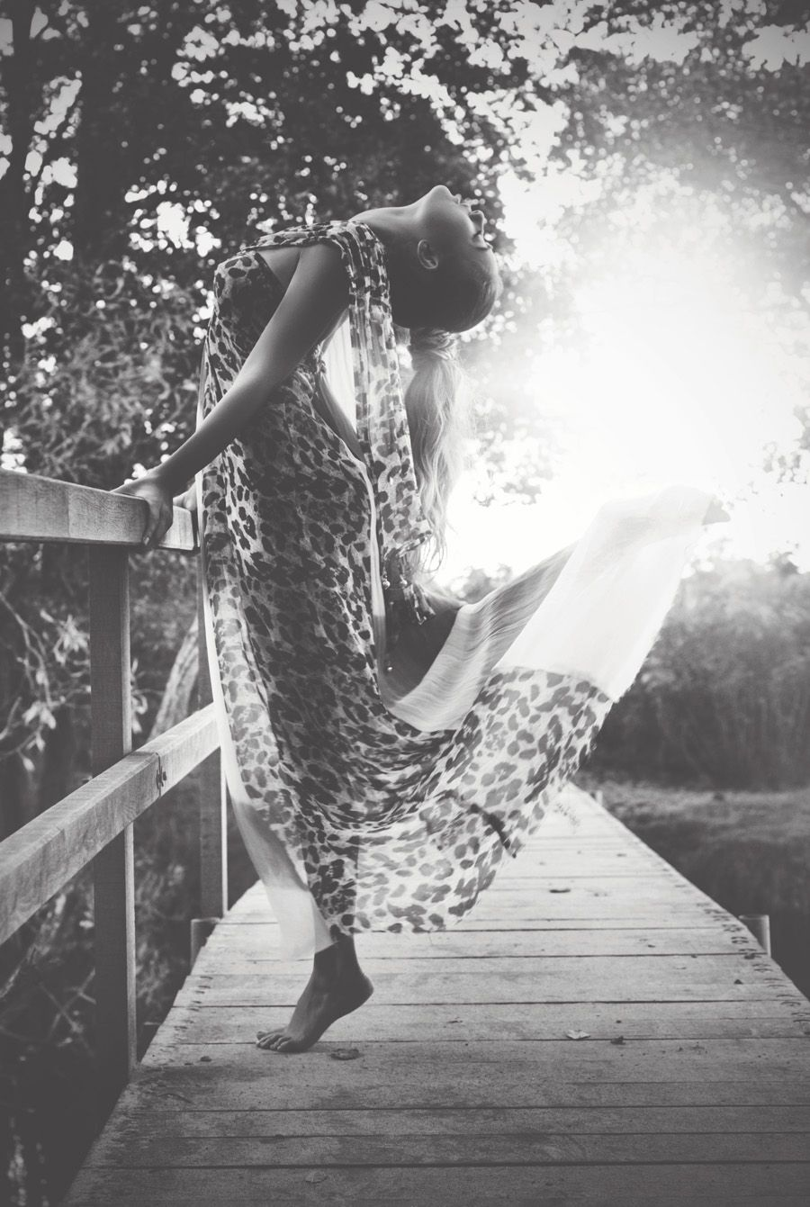 Airy maxi dress done right. And a gorgeous picture to boot!