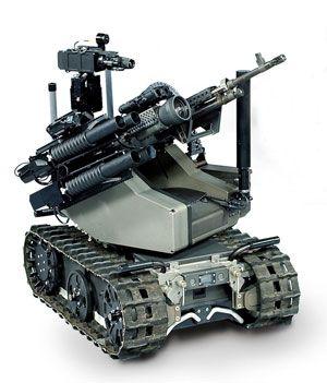 Autonomous Robot Although The Concept Of Full Scale