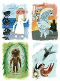 Amanda Visell makes such great art- cute, colorful, and imaginative.