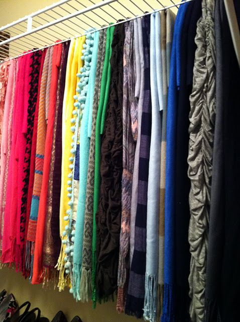 Scarf Storage Why Didn T I Think Of That This Is The Exact Kind