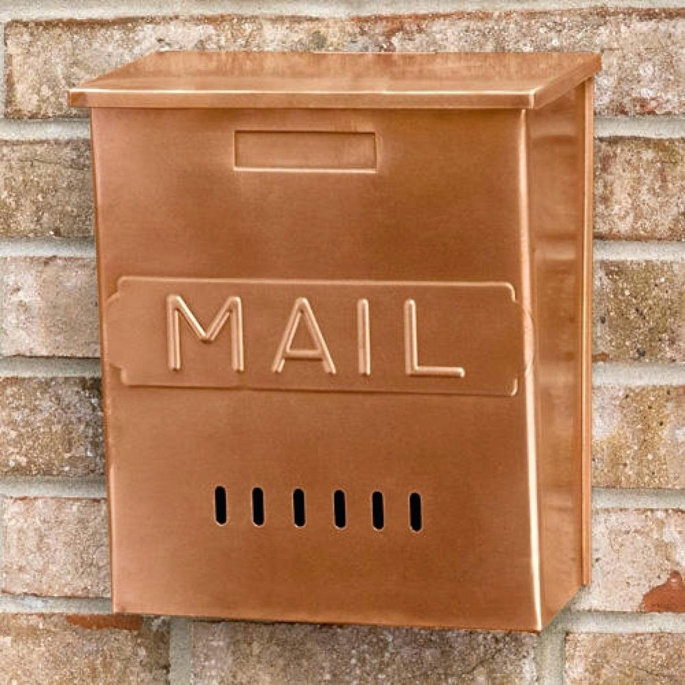 Lovely Plastic Wall Mounted Office Mailboxes