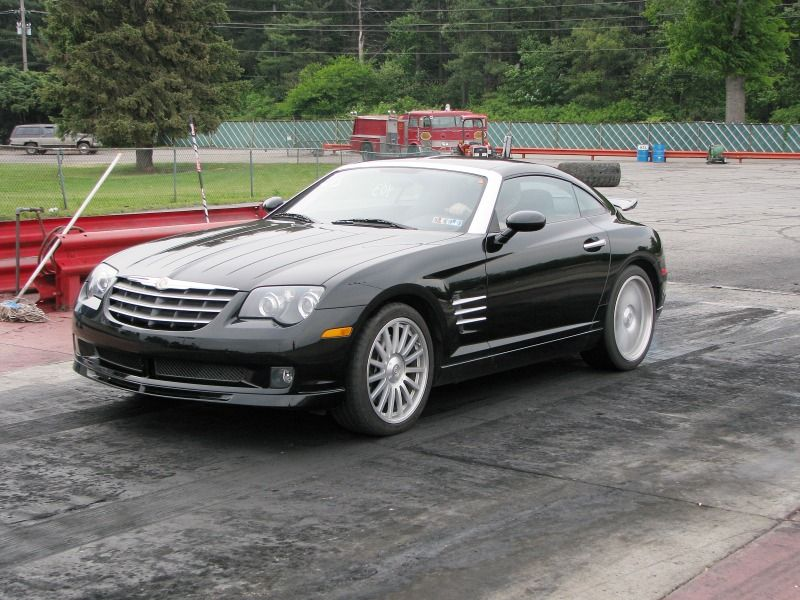 Chrysler Crossfire Srt 6 Coupe With Images Chrysler Crossfire