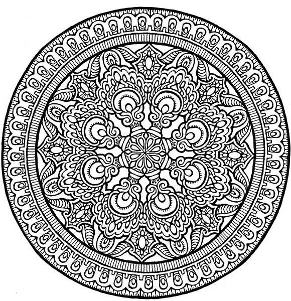 Expert Mandala Coloring Pages Bing Images Coloring